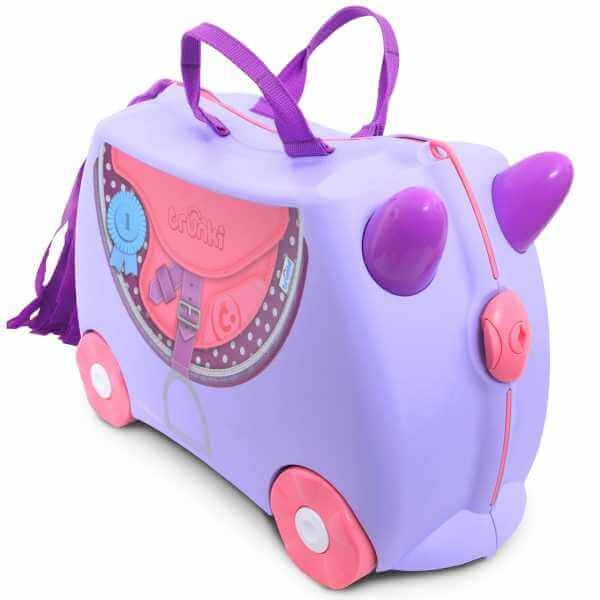 valiza trunki bluebell