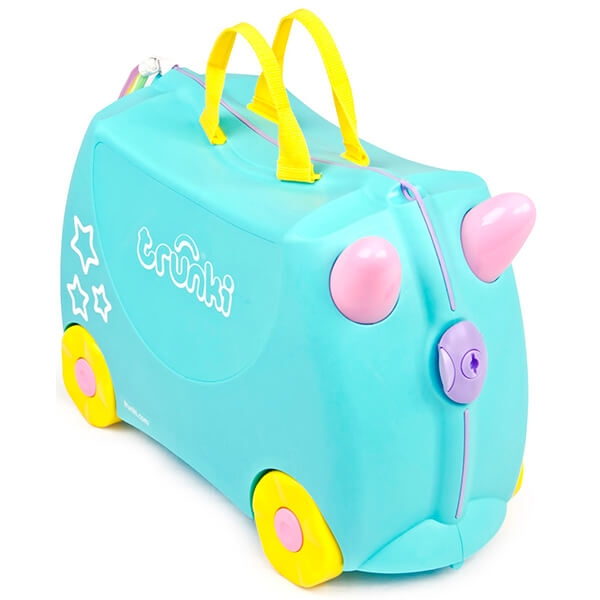 valiza trunki una unicornul