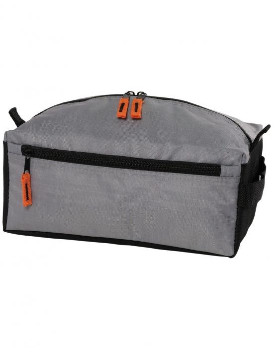 geanta pentru cosmetice ibiza negru argintiu