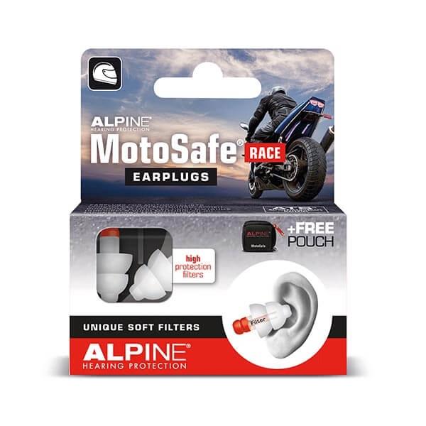 dopuri de urechi alpine moto safe race