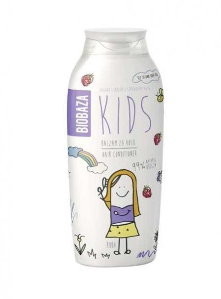 balsam de par natural pentru copii (smochine si capsuni) 250 ml biobaza