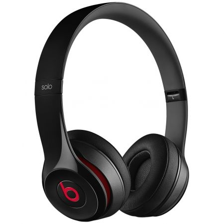 casti beats solo2 on ear headphones black mh8w2zm