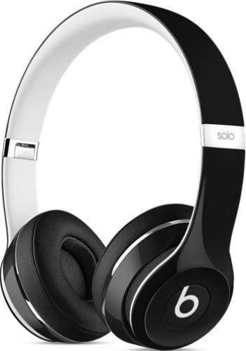 casti beats solo2 on ear headphones (luxe edition) black (ml9e2zm a)