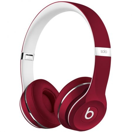 casti beats solo2 on ear (lux edition) red ml9g2zm a