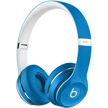 casti beats solo2 on ear luxe edition blue ml9f2zm a