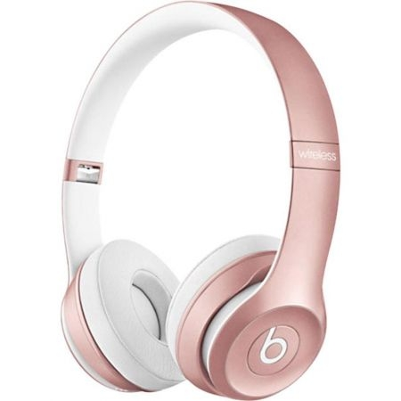 casti beats solo2 wireless on ear rose mllg2zm a