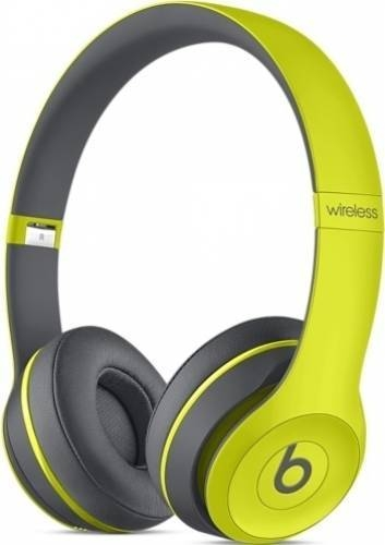 casti beats solo2 wireless yellow mkq12zm a