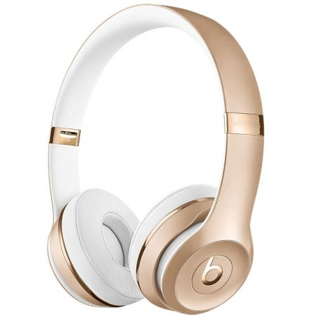 casti beats solo3 wireless on ear gold mner2zm a