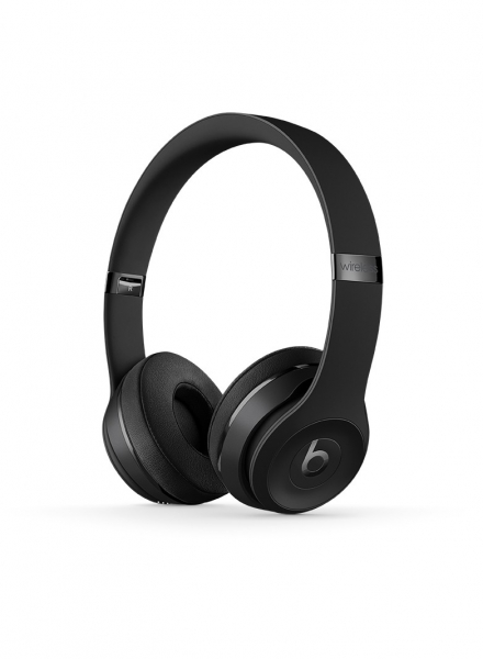 casti beats solo3 wireless on ear headphones black mp582zm