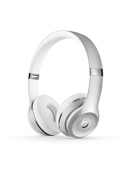 casti beats solo3 wireless on ear headphones silver mneq2zm