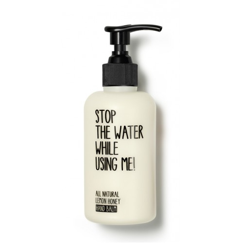 crema de maini lemon honey 200 ml stop the water while using me