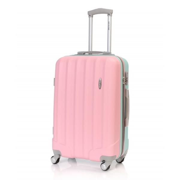 troler libra 66 cm roz