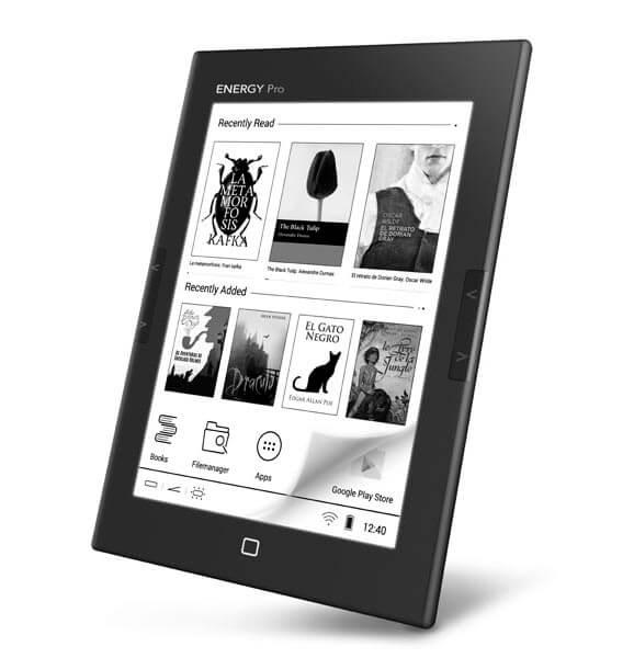 e book reader energy sistem pro hd 6 e ink 8gb