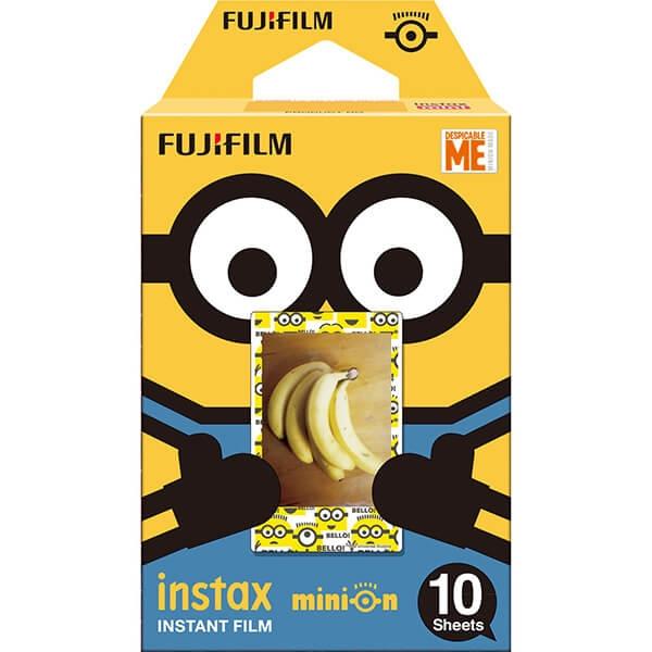 fujifilm minions dmf 10 film instant pentru instax mini 10 buc.