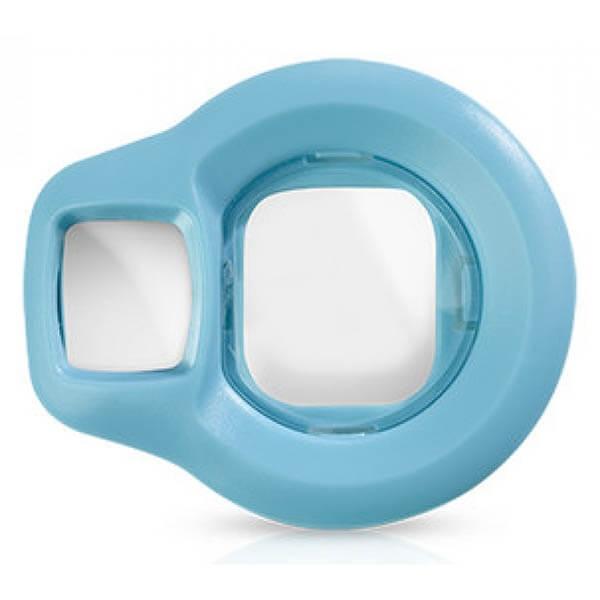fujifilm instax mini 8 selfie lens albastru