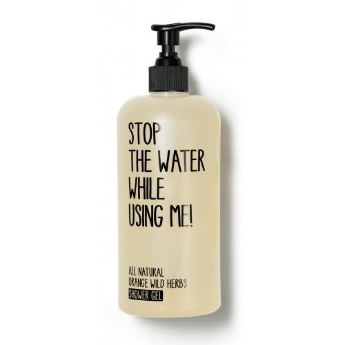 gel de dus orange wild herbs 200 ml stop the water while using me