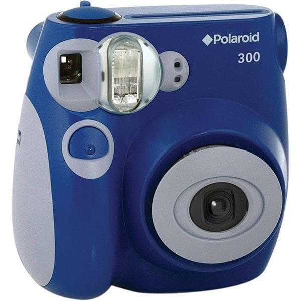 polaroid 300 albastru aparat foto instant