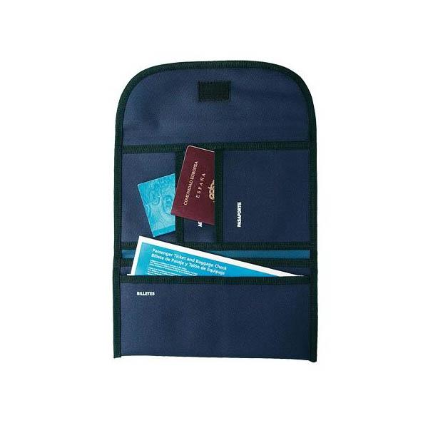 portofel de calatorie albastru