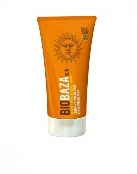 Lotiune naturala de prelungire a bronzului, 150 ml - BIOBAZA