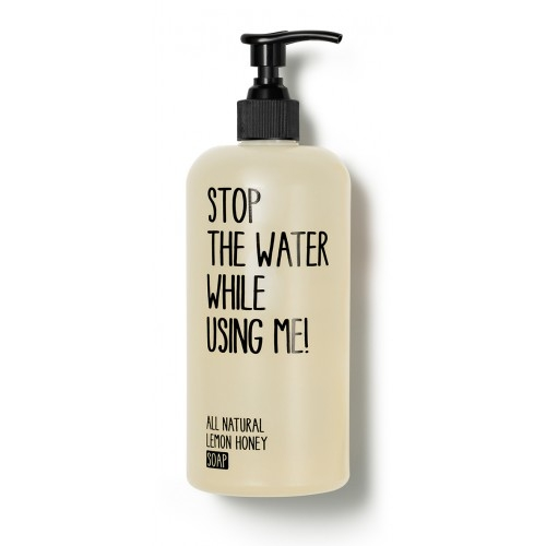 sapun lichid lemon honey 200 ml stop the water while using me