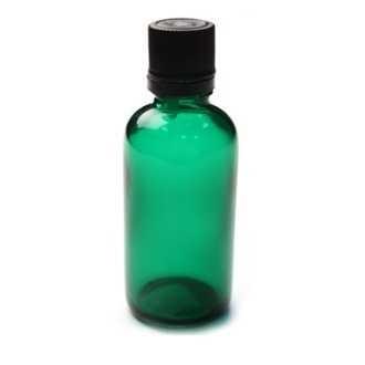 Sticla pentru uleiuri PET verde, 100 ml