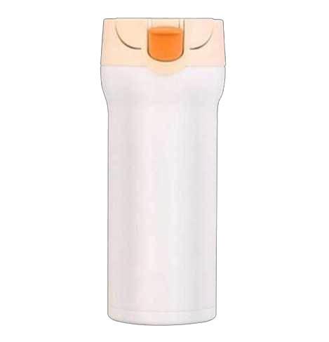 cana cafea de calatorie 350 ml termoizolanta alb