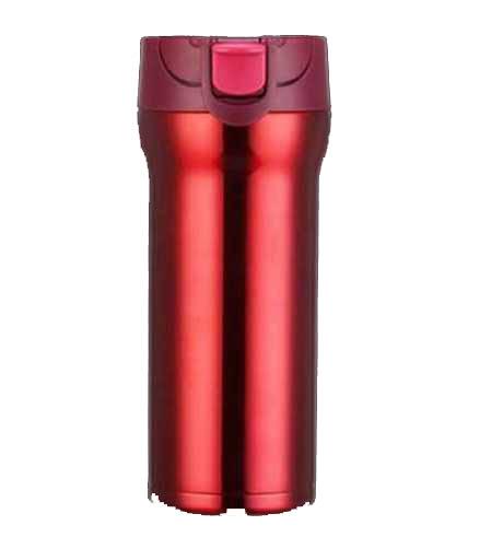 cana cafea de calatorie 350 ml termoizolanta rosu