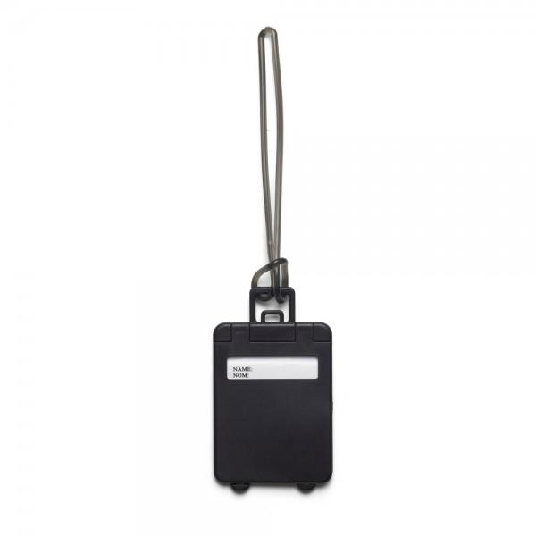 eticheta bagaj model valiza negru