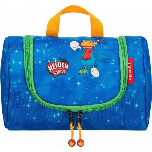 geanta pentru cosmetice travelite eroii orasului albastru