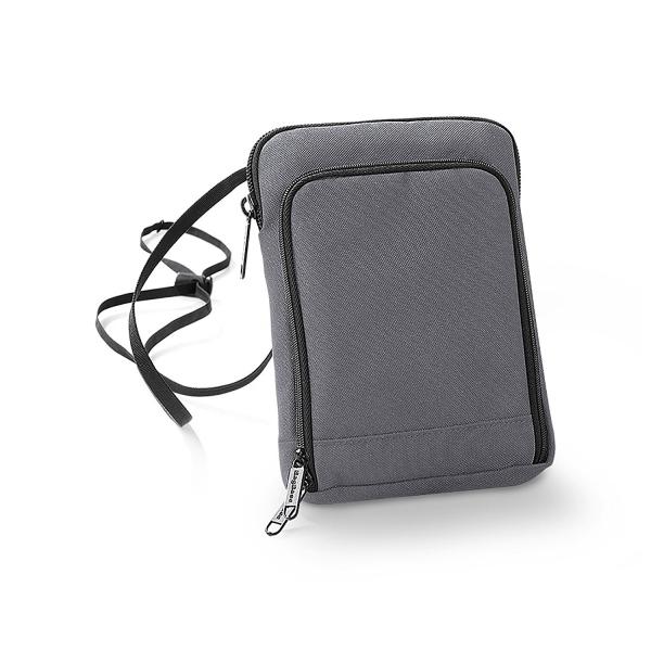 geanta portofel pentru calatorii gri