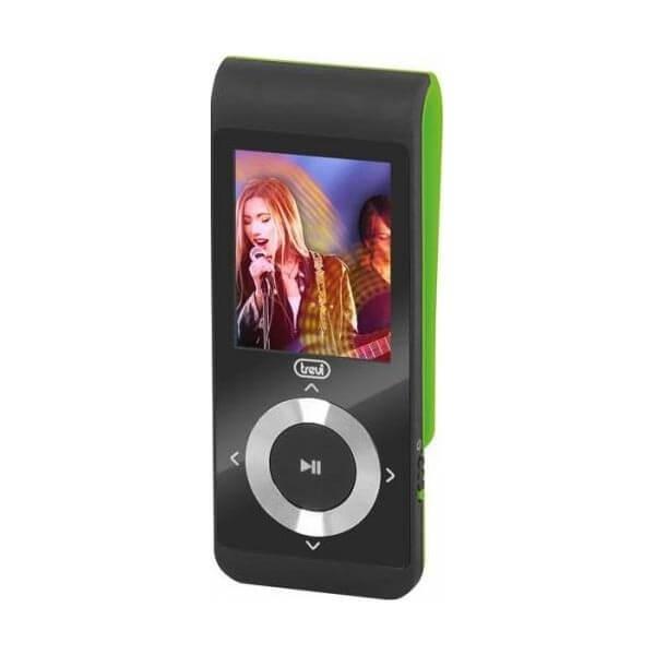mp3 player trevi mpv 1728 4gb microsd in display lcd 1.8 radio fm verde