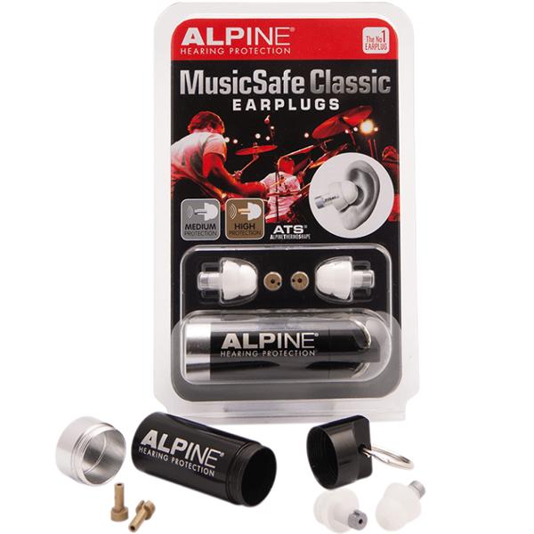 dopuri de urechi alpine music safe classic