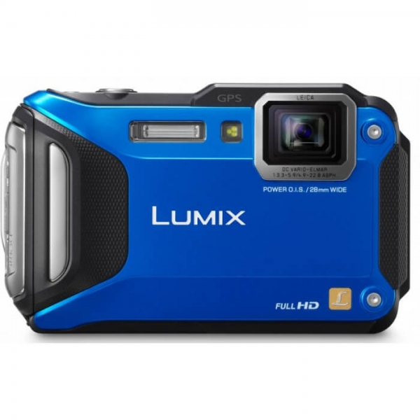camera foto panasonic dmc ft5ep a albastra