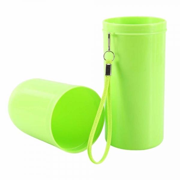 Recipient pentru periuta si pasta de dinti - Verde