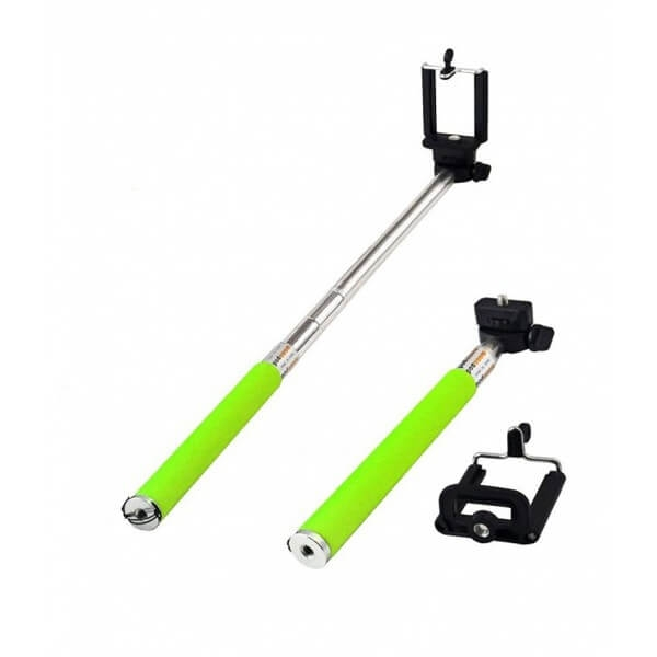 bluetooth selfie stick tellur tl7 5w lawn green