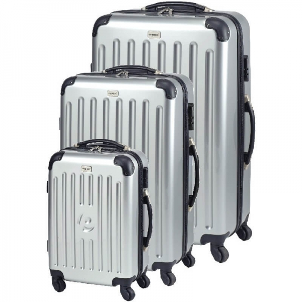 set trolere new york (s m l) argintiu princess traveler