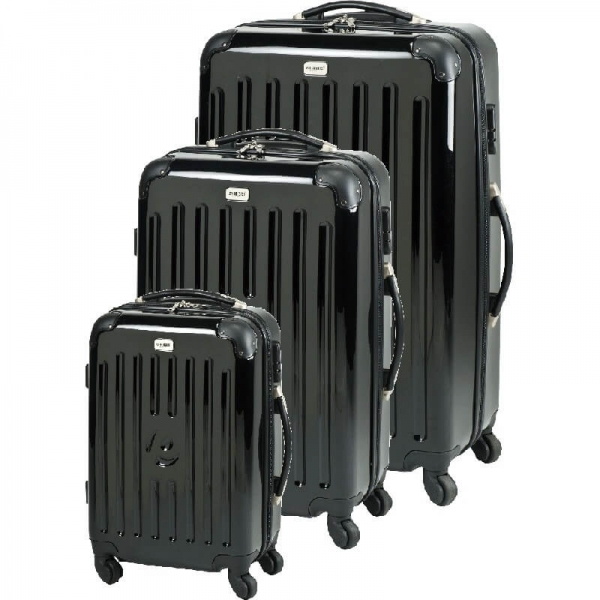 set trolere new york (s m l) negru princess traveler
