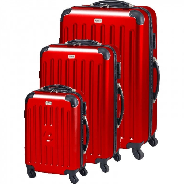 Set Trolere New York (s M L) Rosu Princess Traveler