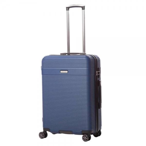 troler lamonza uptown albastru 67x46.5x27.5 cm
