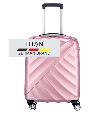 troler titan shooting star 4 roti 55 cm s rose