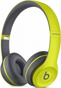 Casti Beats Solo2 Wireless Yellow  mkq12zm/a