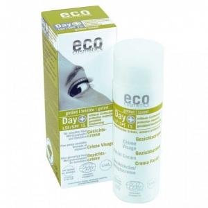 Crema de zi hidratanta nuantatoare, cu protectie solara FPS 15 - Eco Cosmetics