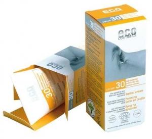 Crema bio protectie solara inalta FPS 30, 75 ml - Eco Cosmetics